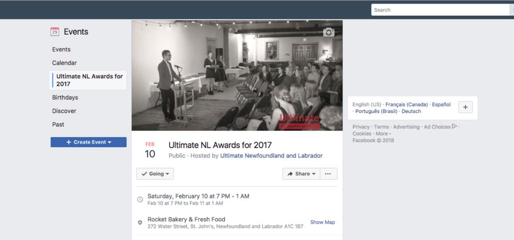 UNL awards gala