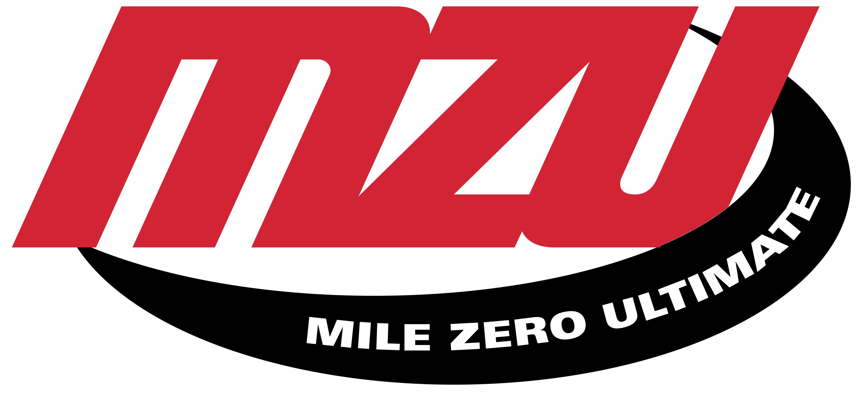 The logo for Mile Zero Ultimate, or MZU.