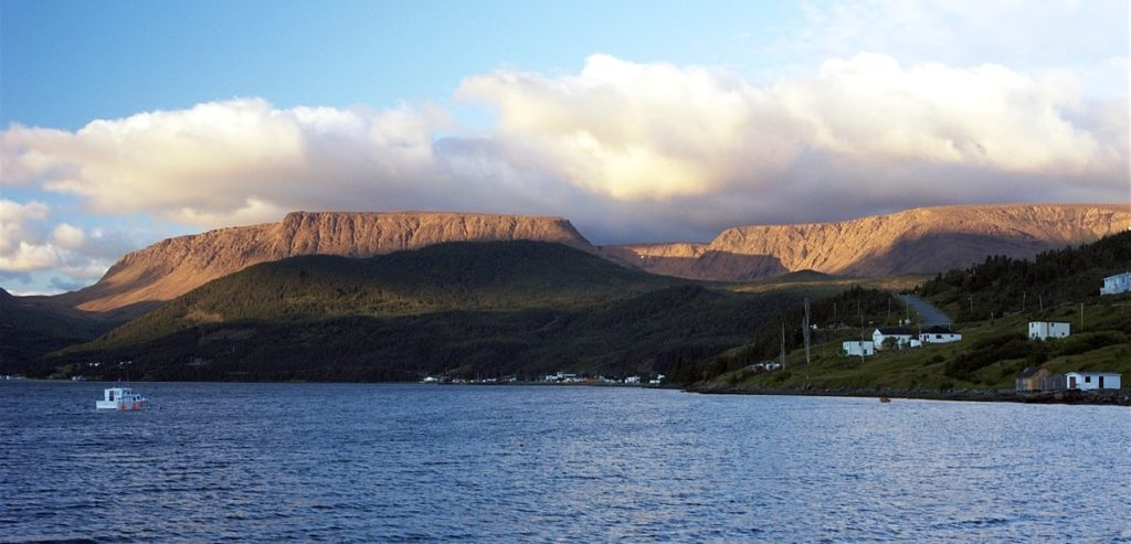 The tablelands of Gros Morne.