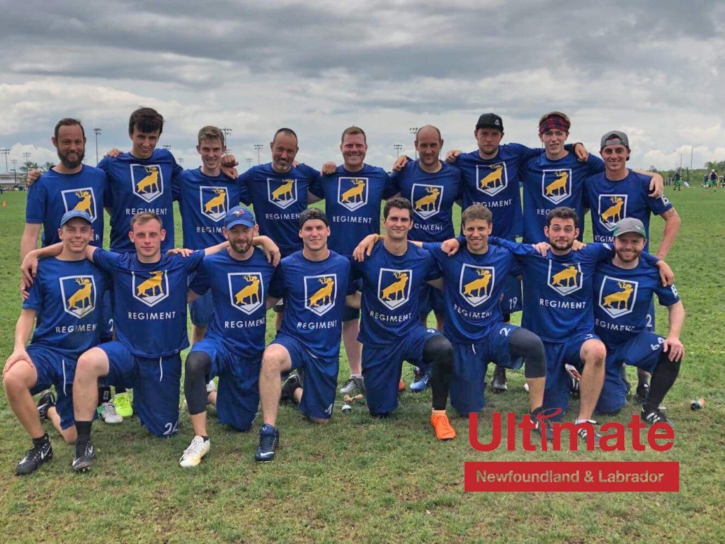 Regiment at the Canadian Ultimate Championships in 2018.