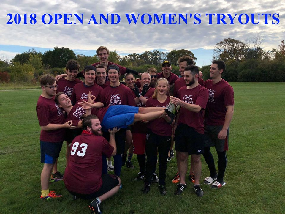 The Memorial University Ultimate Touring Team (MUTT) is holding tryouts this month.