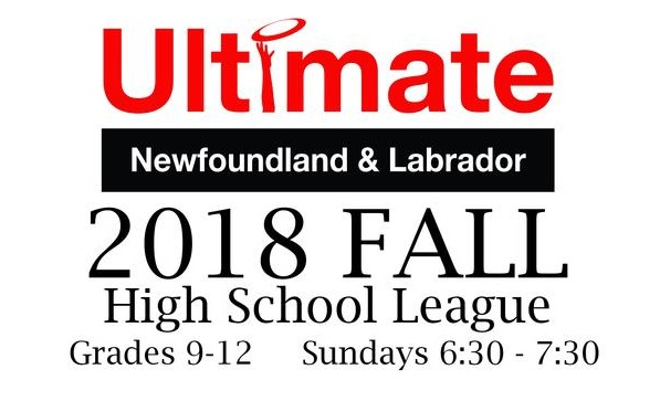 Ultimate Newfoundland and Labrador is hosting a fall league for high school students this year. It's the first year for this league.
