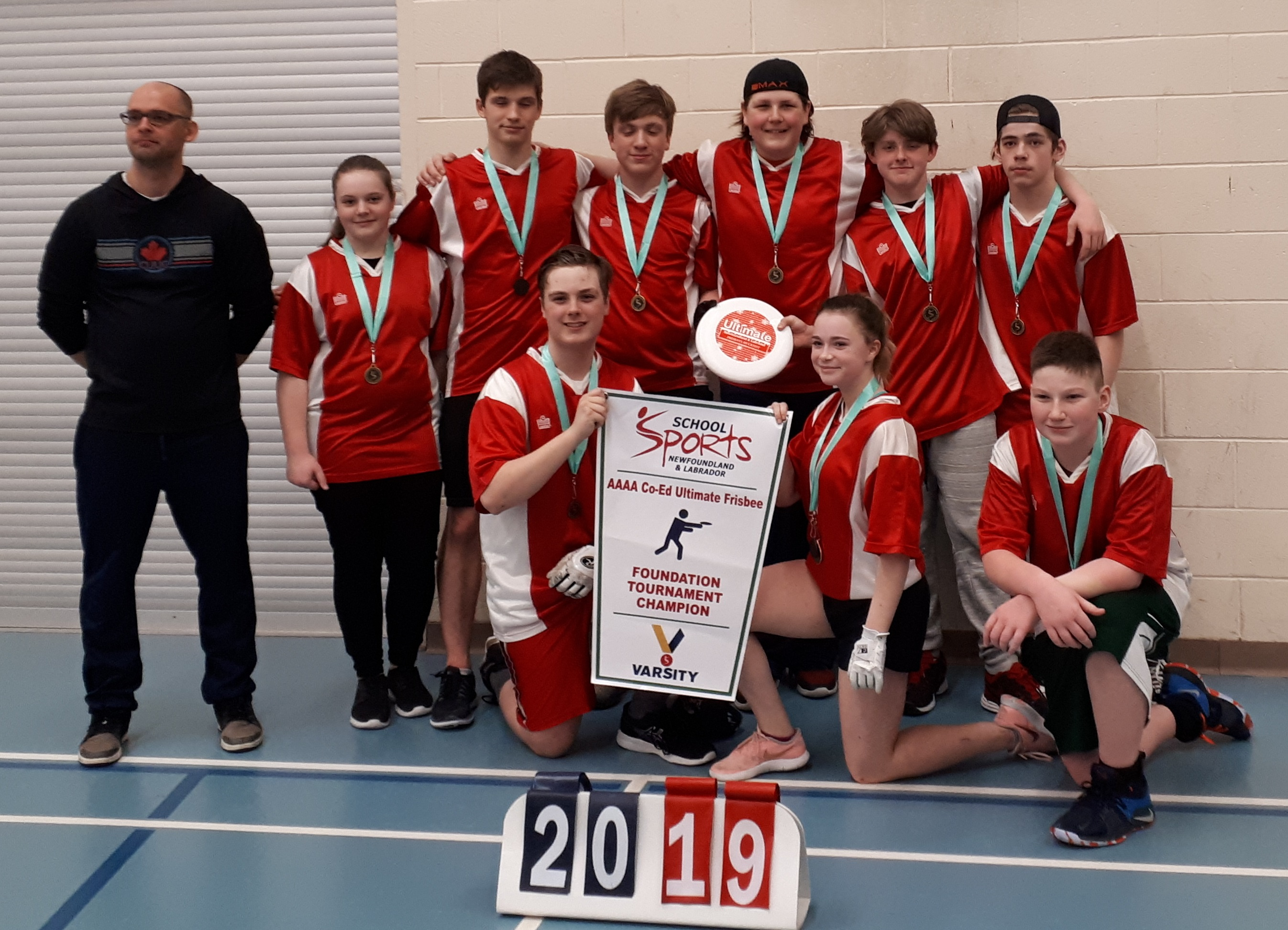 Menihek High School won the first SSNL ultimate banner for the region.