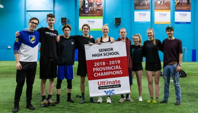 Holy Heart of Mary won the 2019 senior high provincial banner.