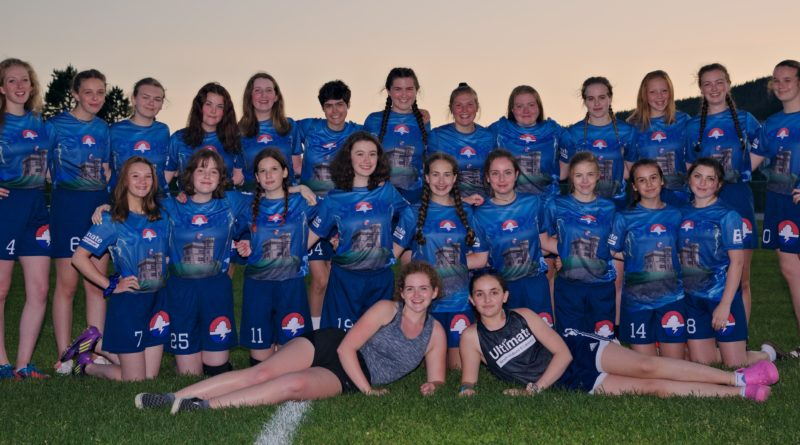 A team photo of Storm, the junior women's club team from Newfoundland and Labrador.