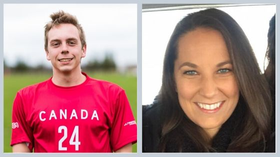 Luke Dyer is pictured on the left and Natalie O'Donnell on teh right.