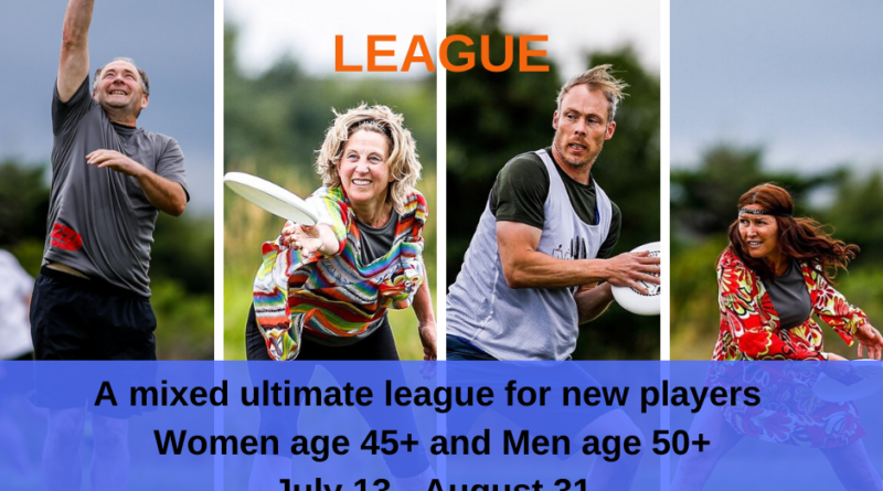 A promotional image for a summer great grand masters ultimate league in St. John's.