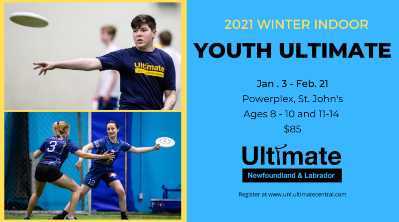 A promotional image for Ultimate NL's youth leagues.